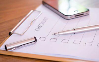 2020 Personal Income Tax Return Checklist